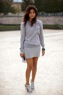 vestido (saia + blusa) despojado