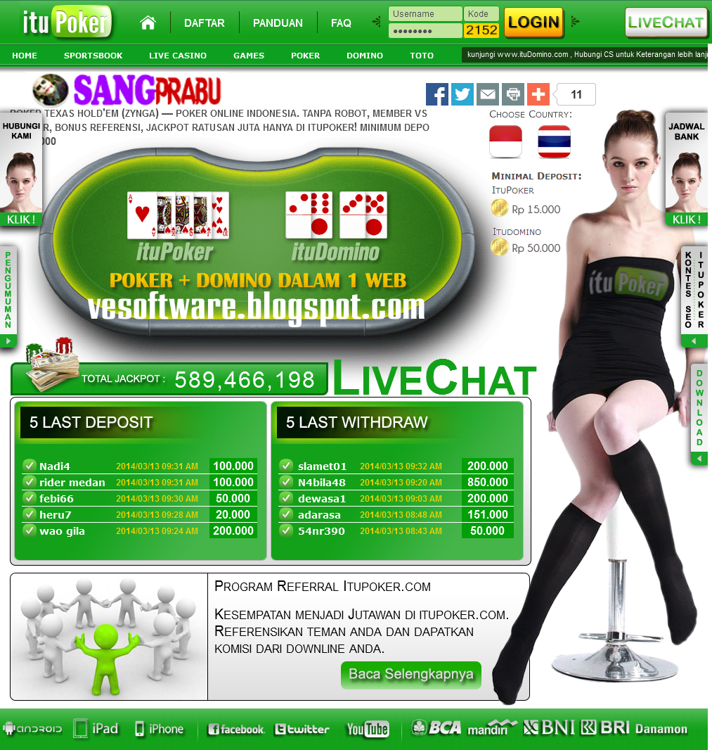on line casino online indonesia terpercaya