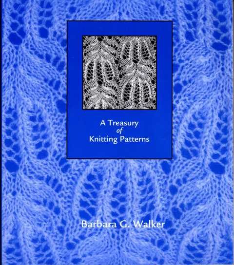Knitting Pattern Books : Crafts n Things: Book: A treasury of knitting patterns