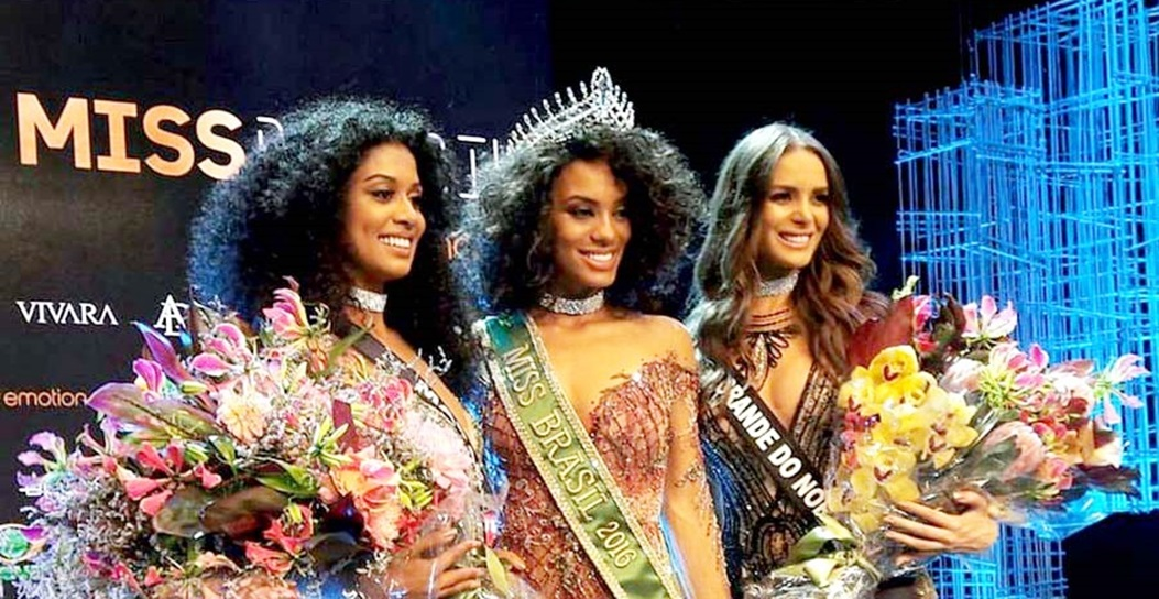 MISS UNIVERSO BRASIL TOP TRES 2016