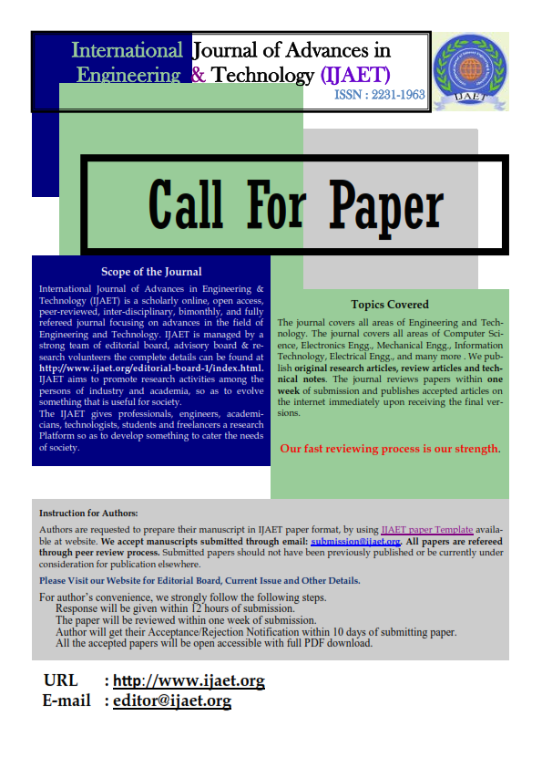 call for papers in literary journals 2013 We invite you to submit your next paper to the ecology domain of elementa: science of the anthropocene,  science of the anthropocene call for papers:  2013.