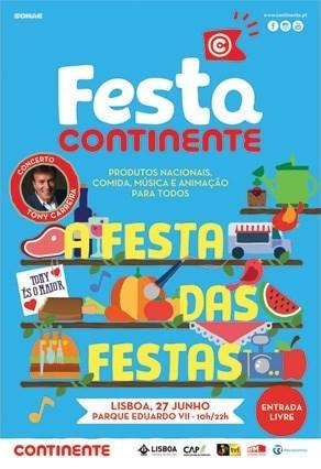 A festa das festas Continente