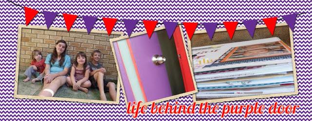 {life behind the purple door}