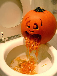 Pumpkin Puking