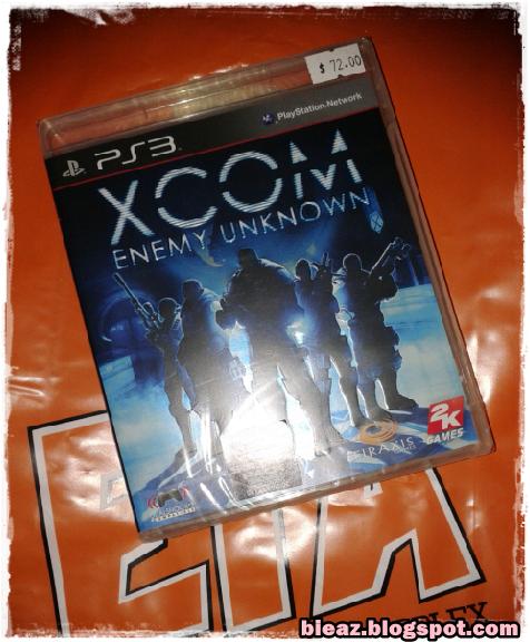 Xcom PS3