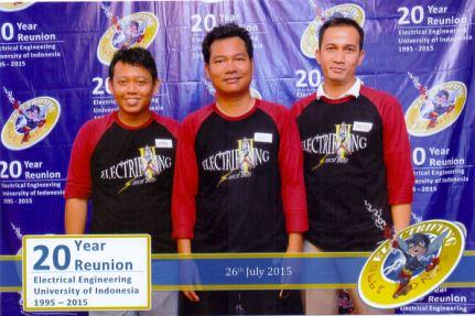 20 Tahun Reuni Alumni Elektro UI Angkatan 95