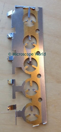 metal under microscope