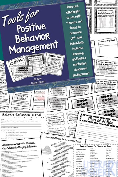 https://www.teacherspayteachers.com/Product/Classroom-Management-Tools-for-Positive-Behavior-Management-in-Middle-School-436928