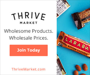 Save 25% to 50% @ Thrive Market