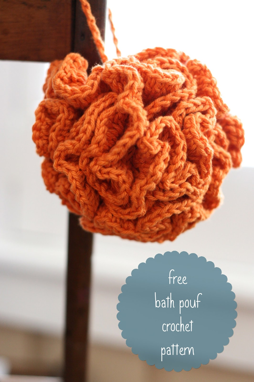 Free Crochet Pattern For Bath Pouf : Database Error