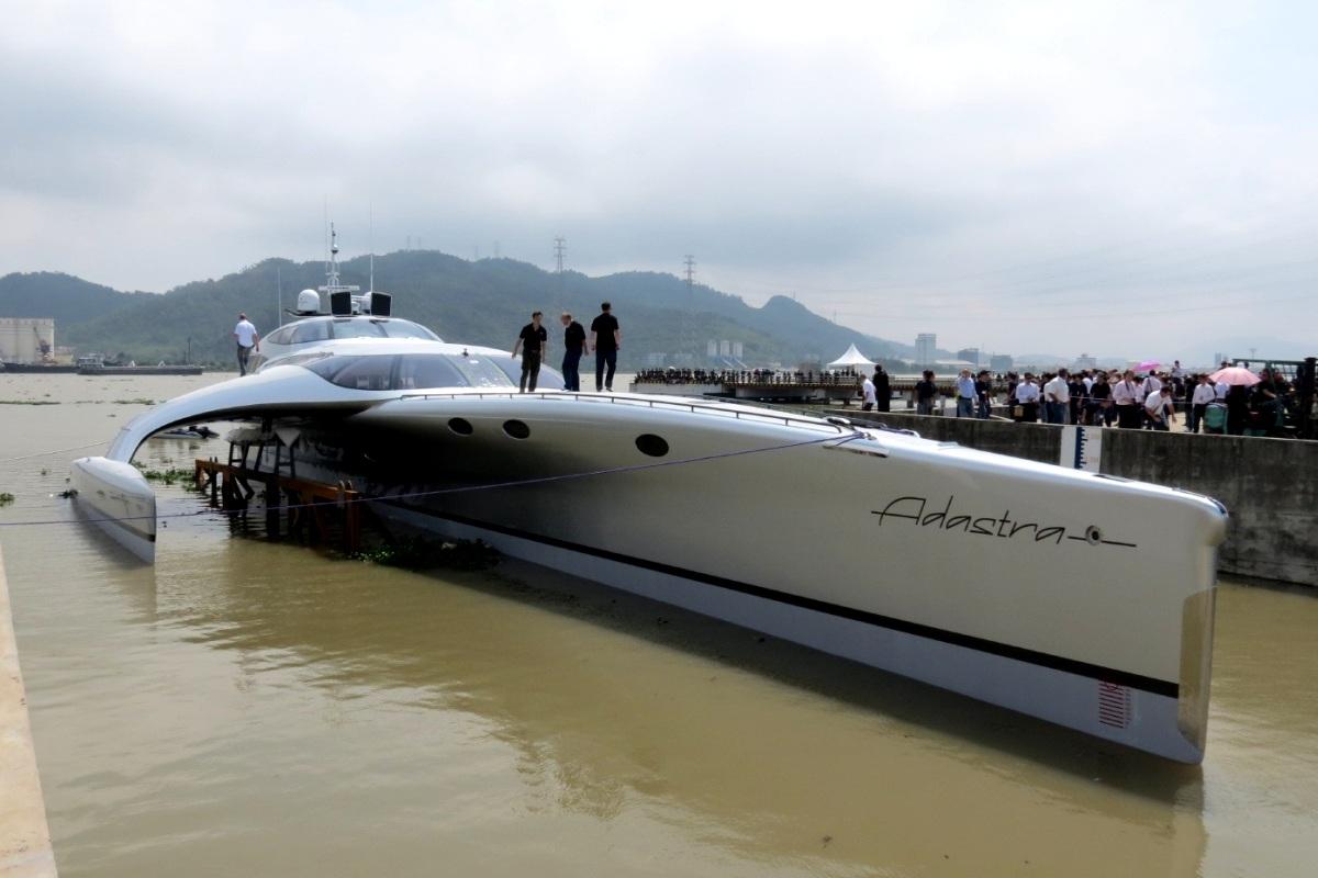Adastra Yacht Trimaran 1