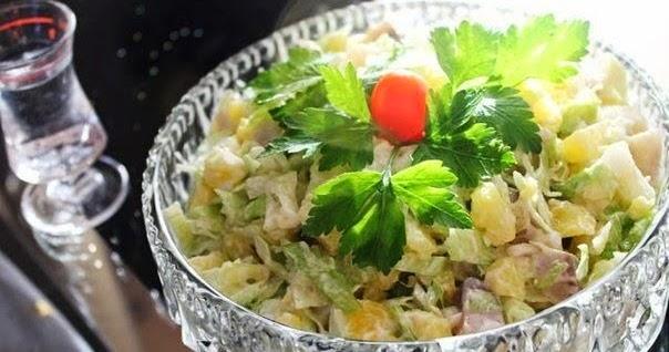 Салат под водочку с фото