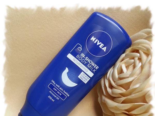 Nivea In-Shower Body Milk за суха кожа