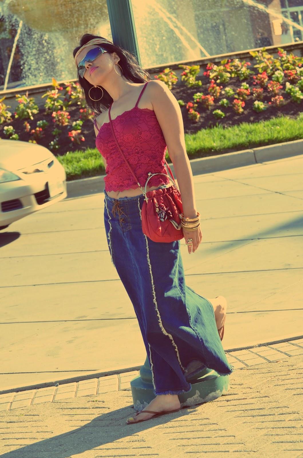 Outfit encanto gitano