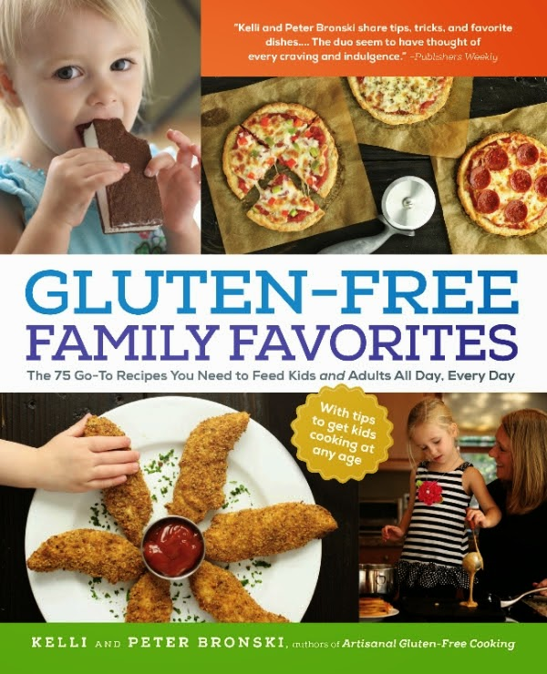 Gluten Free Family Favorites cover