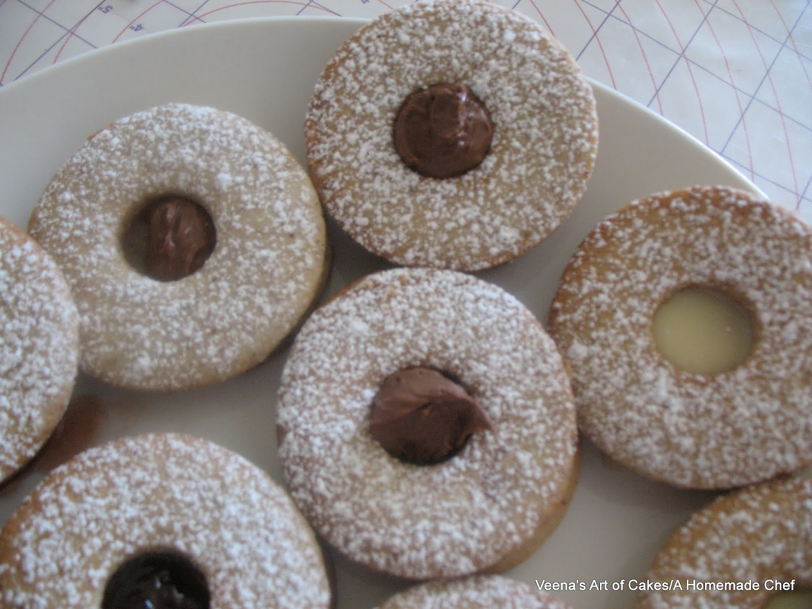 Linzer Cookies - A Homemade Chef