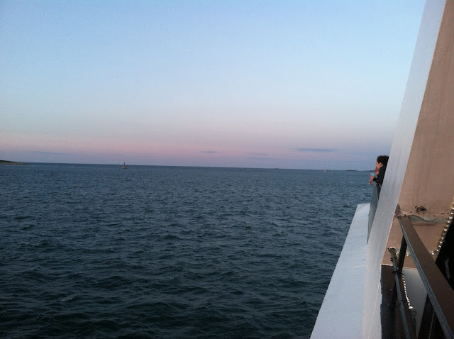 A Big Blue Watery Road - Boston Harbor Cruise | Pennies & Paper Blog