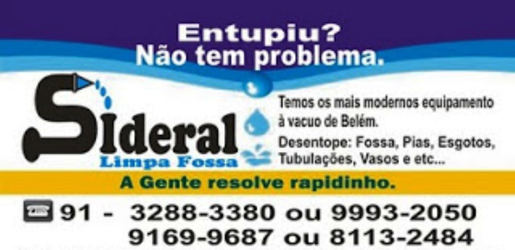 Sideral Limpa Fossa