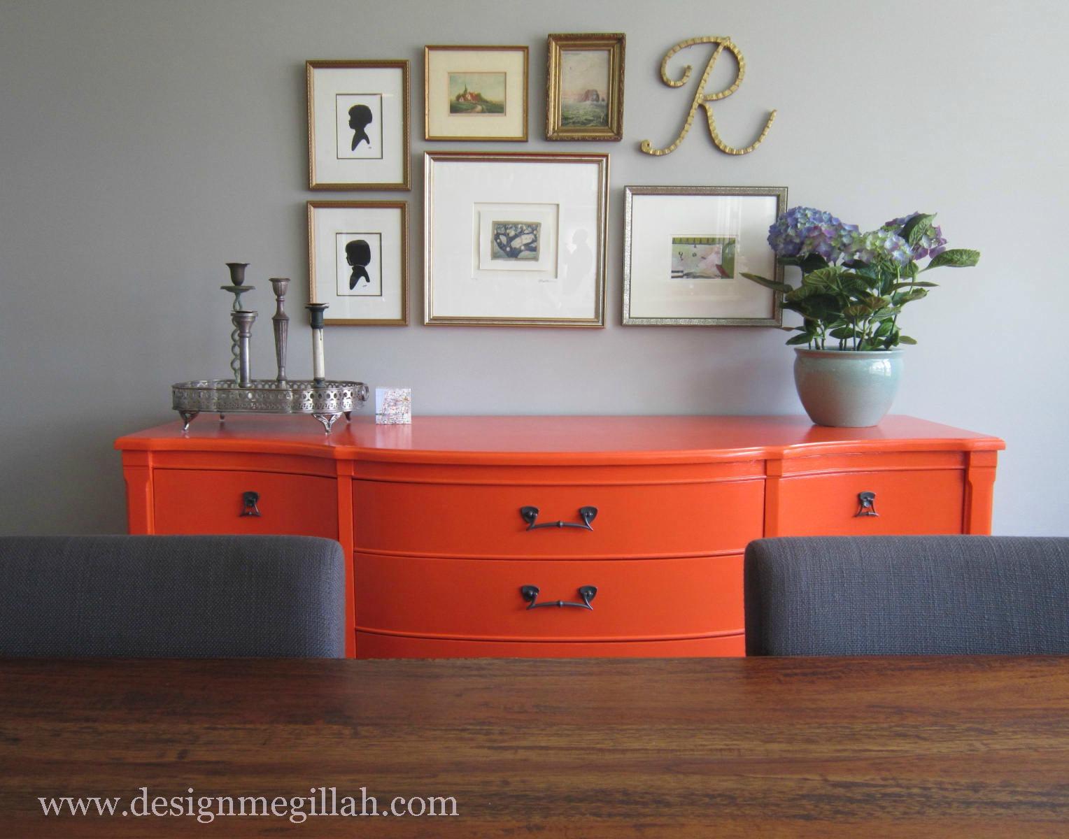 "Design Megillah: ""New"" Dining Room Buffet"