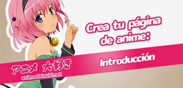 Cómo crear una página web de anime