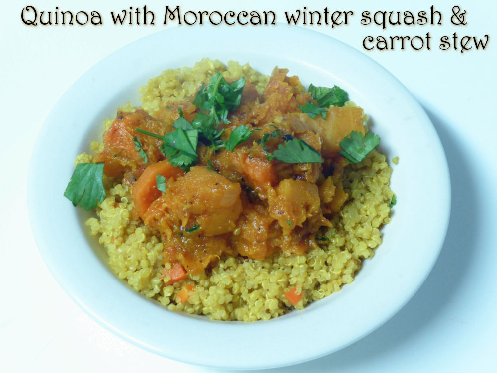 Holy Cannoli Recipes: Quinoa with Moroccan winter squash ...