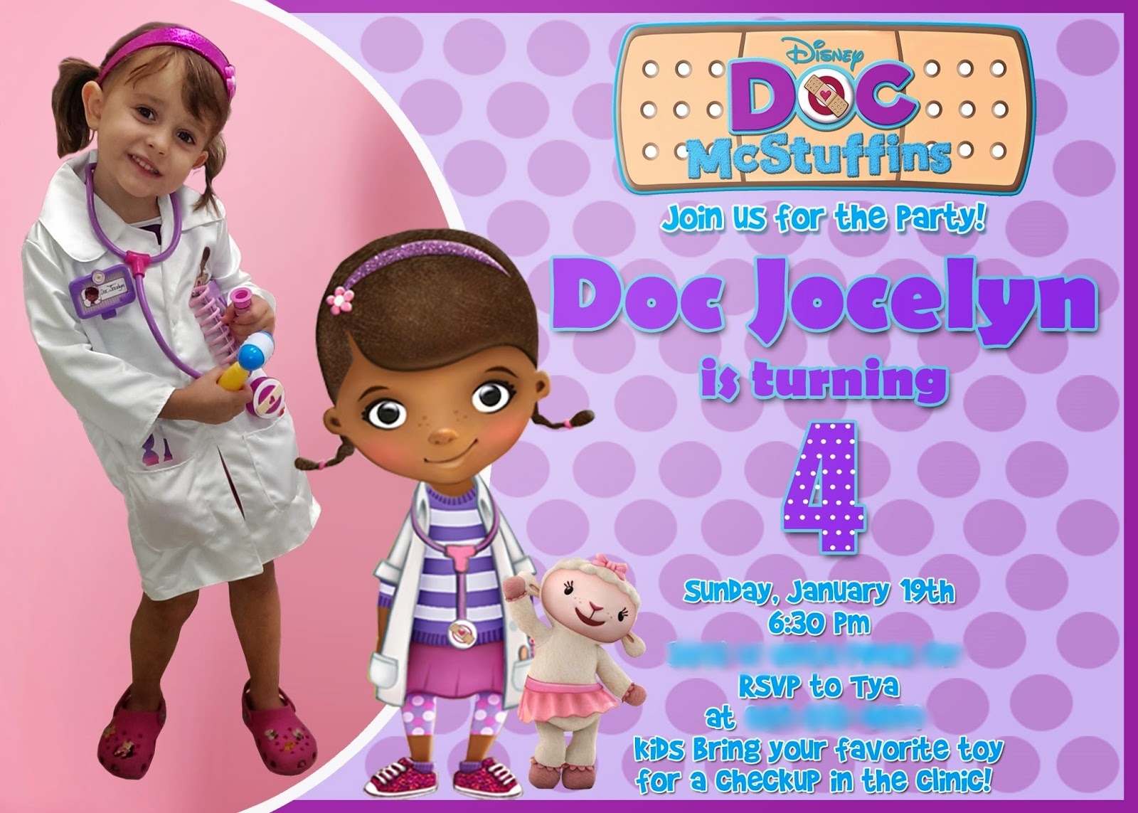 padicakes: Doc McStuffins Birthday Party