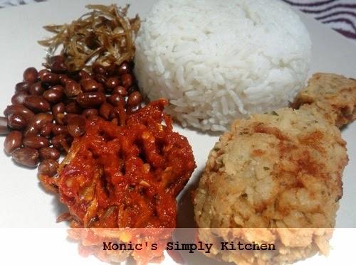 cara membuat nasi katok brunei