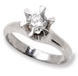受け継がれたリングの石で記念の婚約指輪(エンゲージリング)を作る喜び。