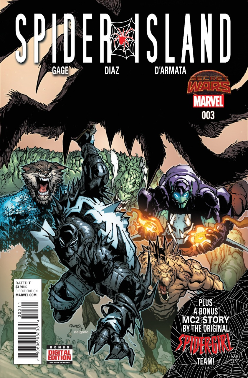 SECRET WARS SPIDER ISLAND#03