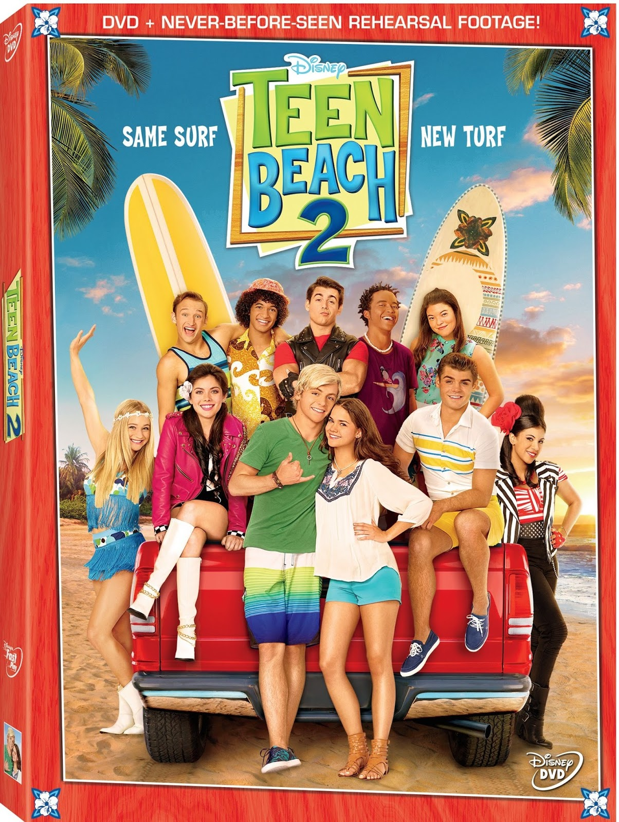 Teen Beach 2 on DVD