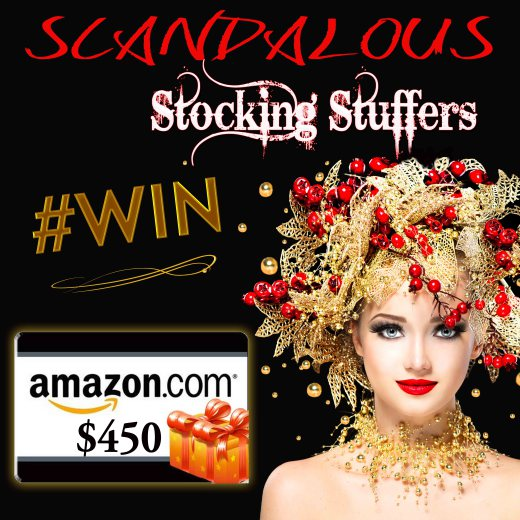 Scandalous Reads - Book Giveaway - December 7, 2016