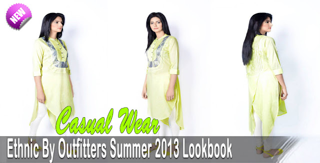 Latest Ethnic By Outfitters Summer 2013 Lookbook