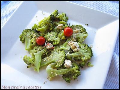 salade de brocolis à la feta