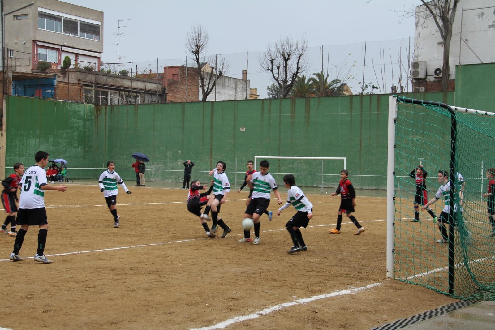 La salle bonanova futbol infantil 2011 2012 de gener 2012 for Piscina la salle bonanova