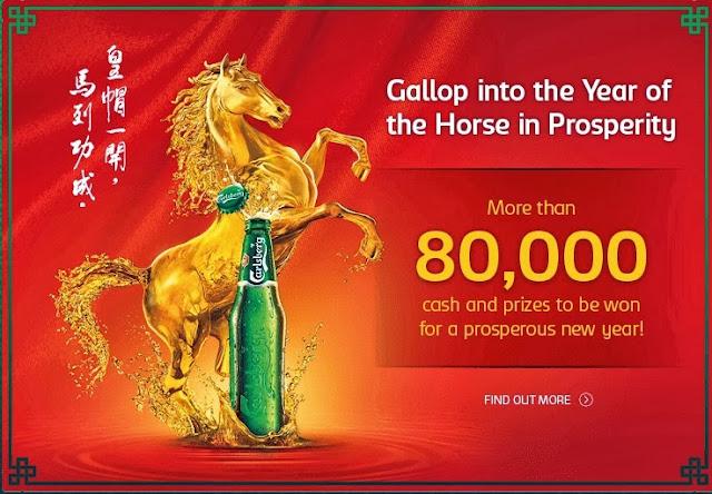 Carlsberg Malaysia 2014 Chinese New Year Promotional Campaign