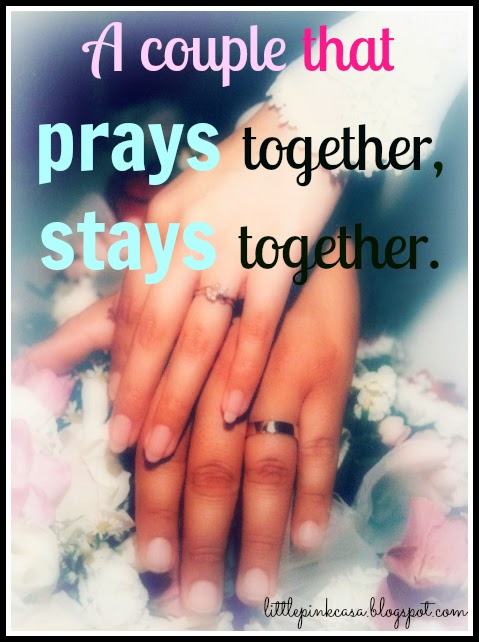 Couple Stays The Together That Prays Together