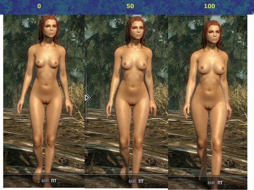 Sorry, the elder scrolls nude mods agree with