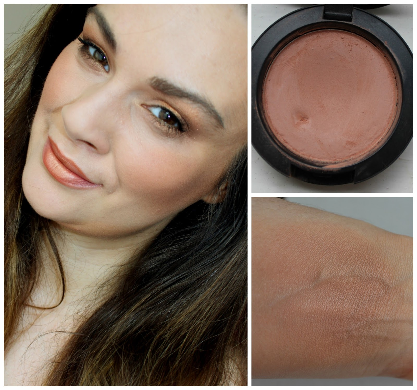 beautiful me plus you: My favourite MAC Blushes - Reviews and Swatches