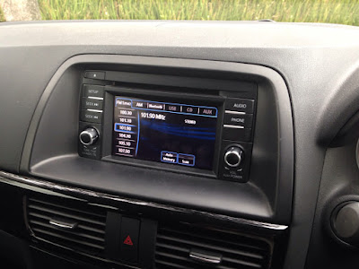 Infotainment system is good in the CX-5
