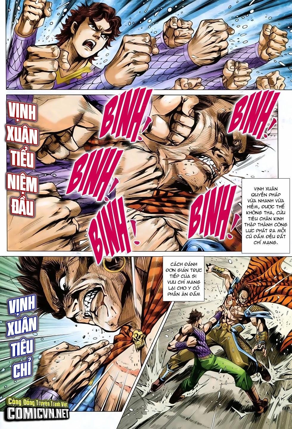 Tân Tác Long Hổ Môn chap 758 - Trang 4