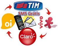 Enviar SMS Gratis para todas as operadoras de celular do Brasil
