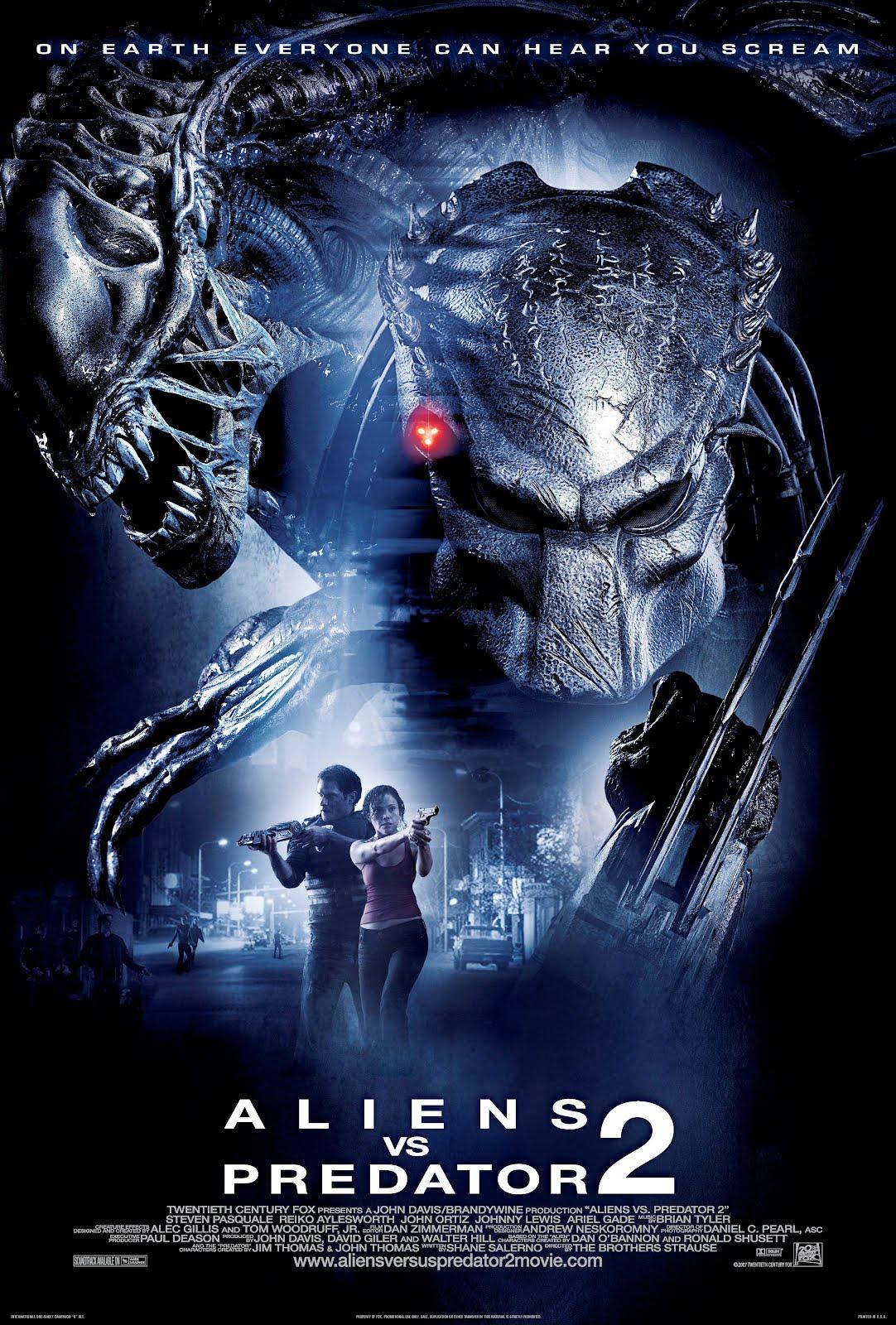 Alien VS Predator 2 เอเลี่ยน ปะทะ พรีเดเตอร์ สงครามชิงเจ้ามฤตยู 2 HD 2007