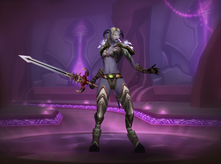 Warrior Plate by Demona of Korgath & Warcraft Looks: Warrior Plate by Demona of Korgath
