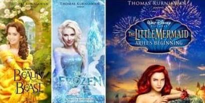 Poster Film Disney ala Thomas Kurniawan