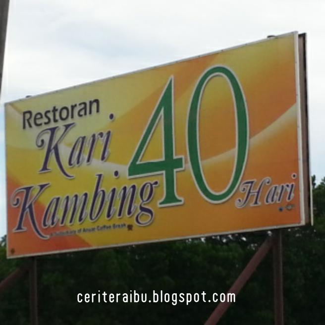 JJCM : Restoren Kari Kambing 40 Hari