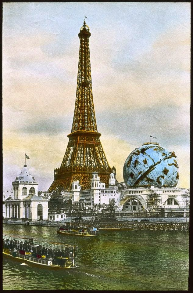 the 1900 paris worlds fair in color photos vintage everyday