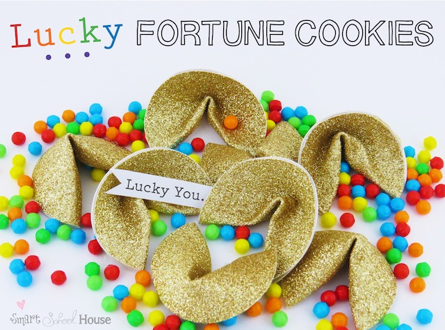 Rainbow Lucky Fortune Cookie