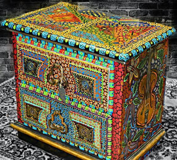 Amazing Painted Dresser By Boho Status Quo