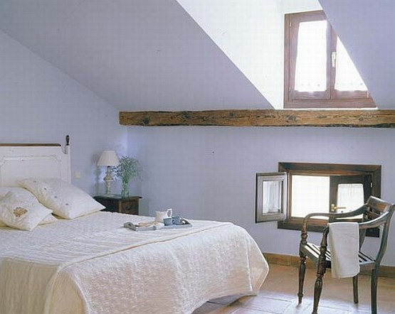 Attic into bedroom