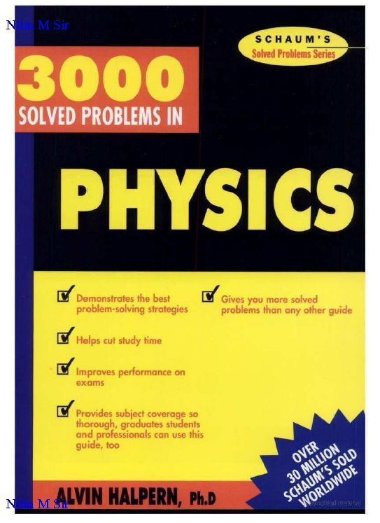 3000 solved problems:
